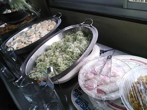 北関東支店の食事 ラーメンのトッピング