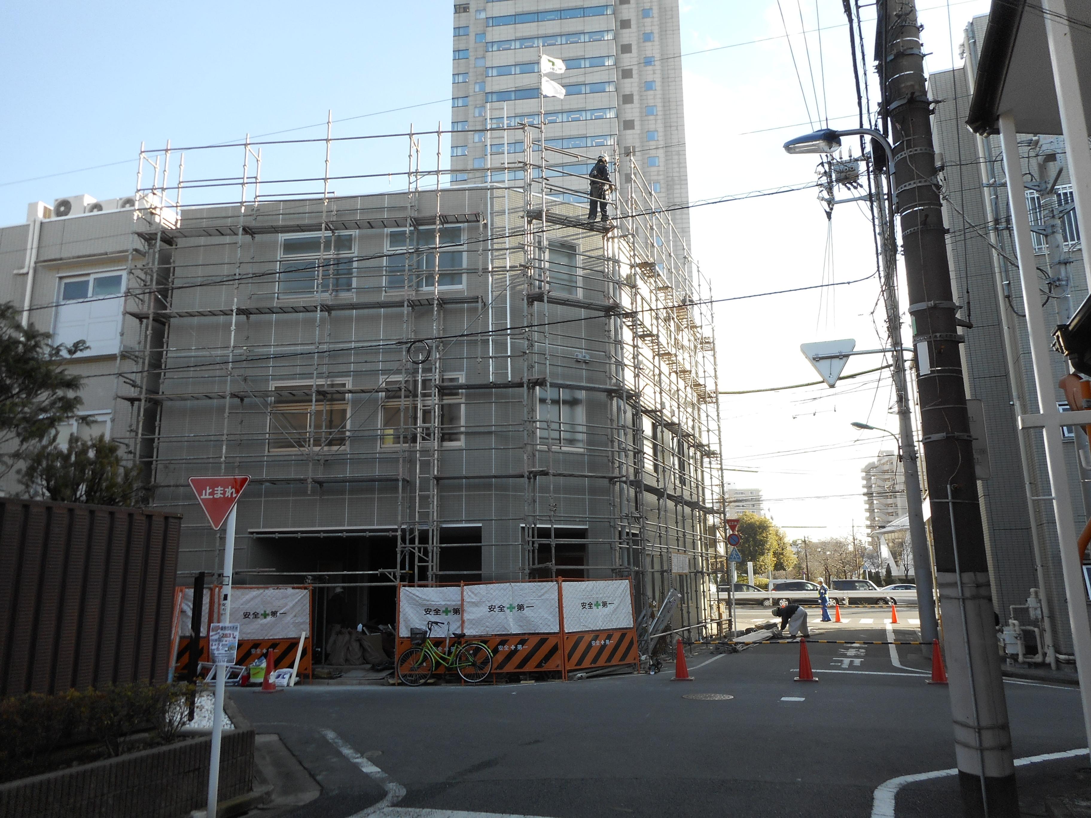 新築ビル 新築工事